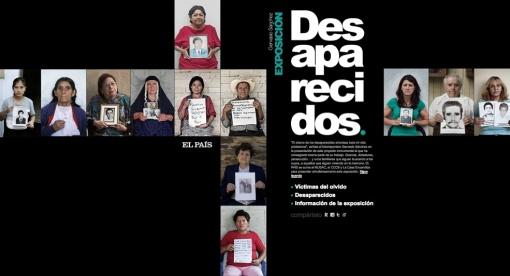 Exposición Desaparecidos de Gervasio Sánchez