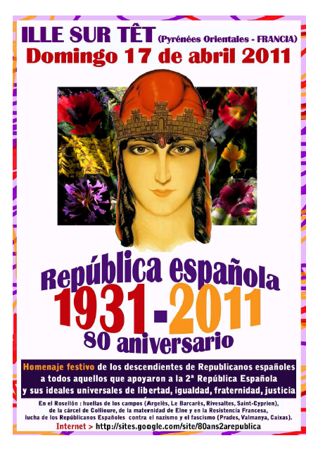80è aniversari Republica Ille Sur Tet