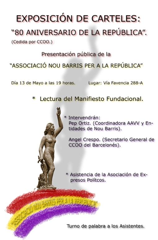 Exposició de cartells 80è aniversari de la República